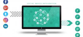 How social media integration benefits your website content