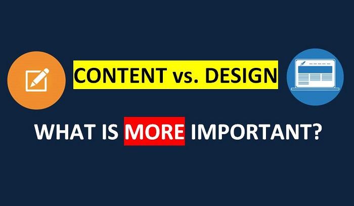 Website Design vs. Website Content. What's more important?