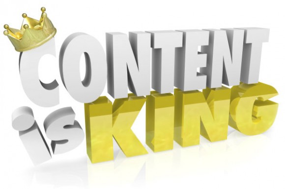 """""""Content Is The King""""- Google"""