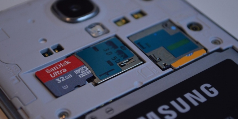 microSD Galaxy S7