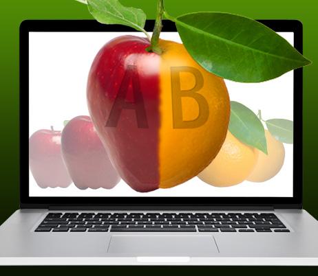 Benefits of A/B testing: I