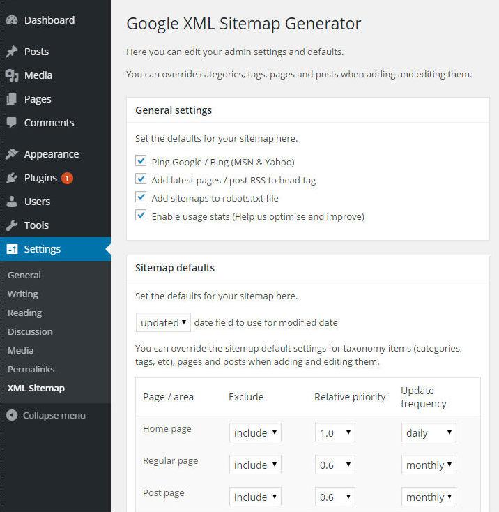 Sitemap Xml Examples: Top 13 WordPress Plug-ins: I