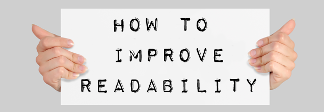 Here's how you can improve the readability of your blog posts