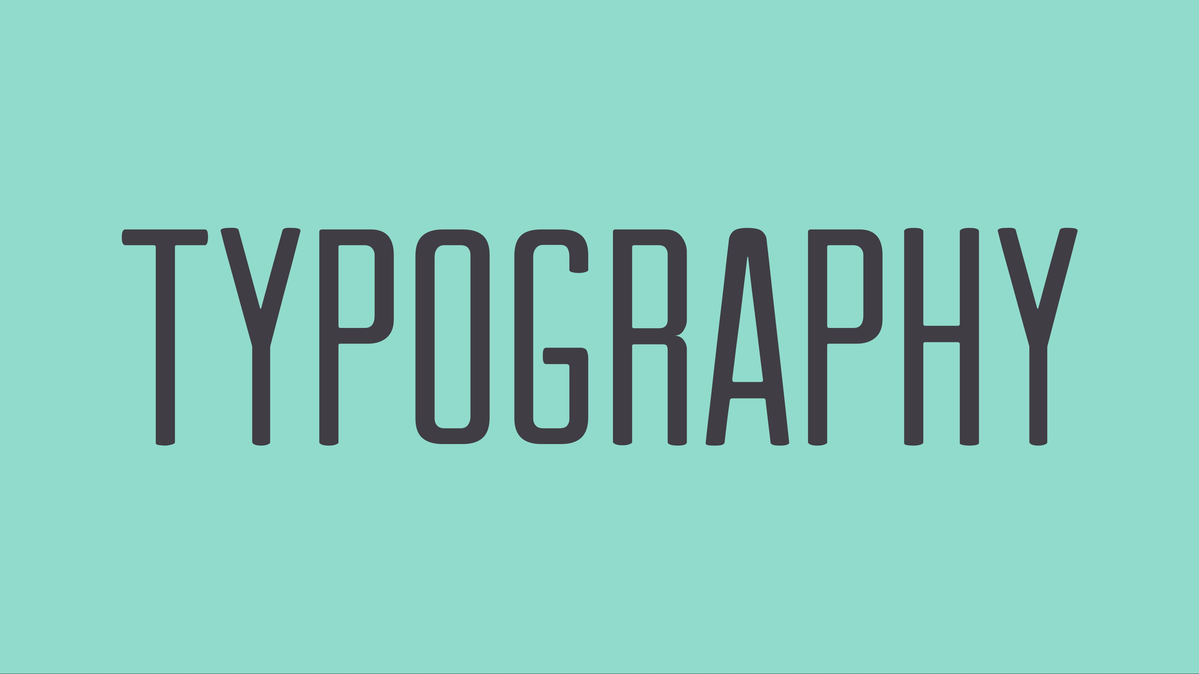 All that typography does for your website