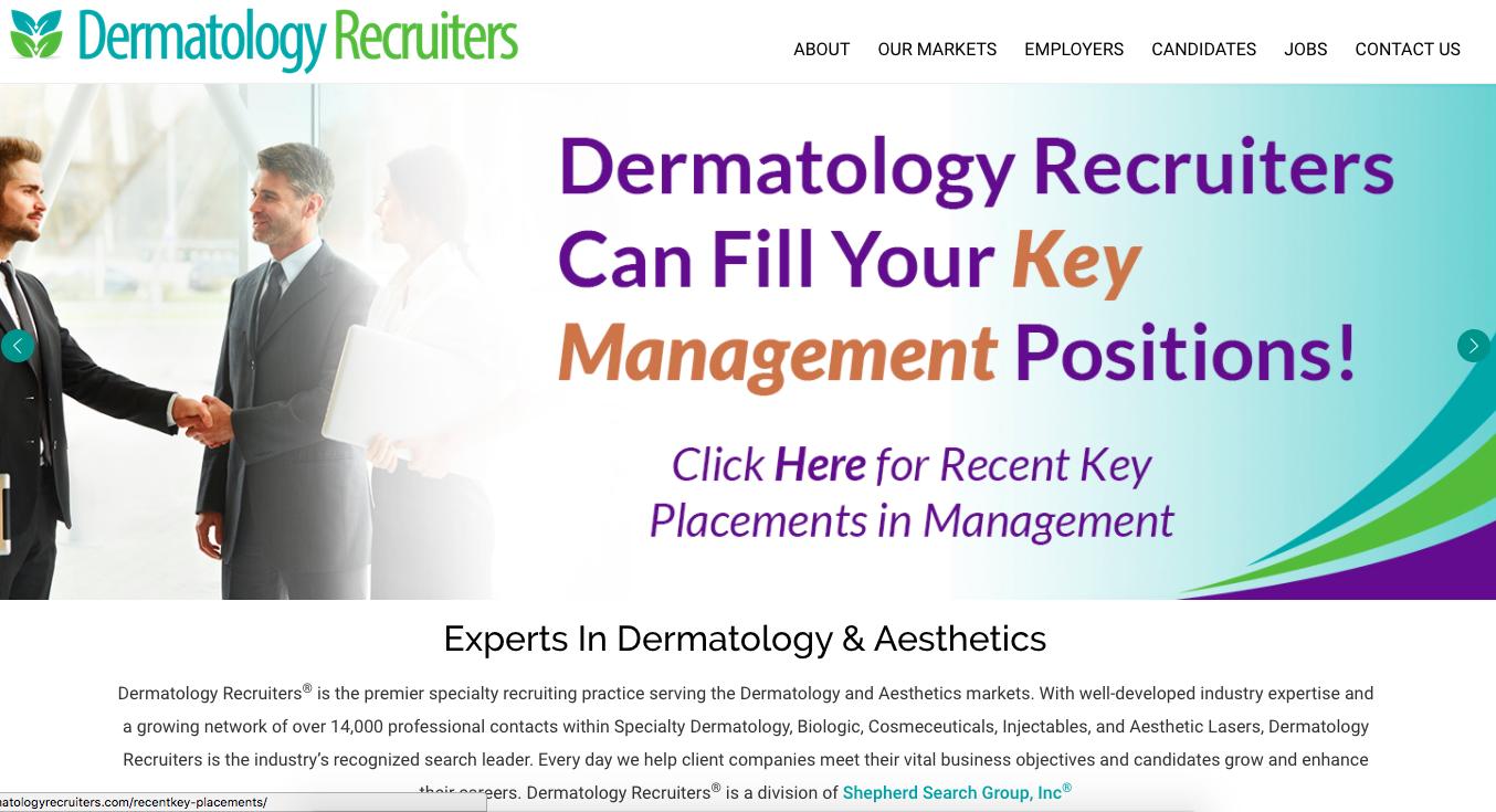 Dermatology Recruiters