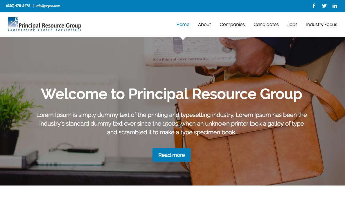Principal Resource Group
