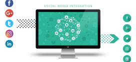How social media integration benefits your website content