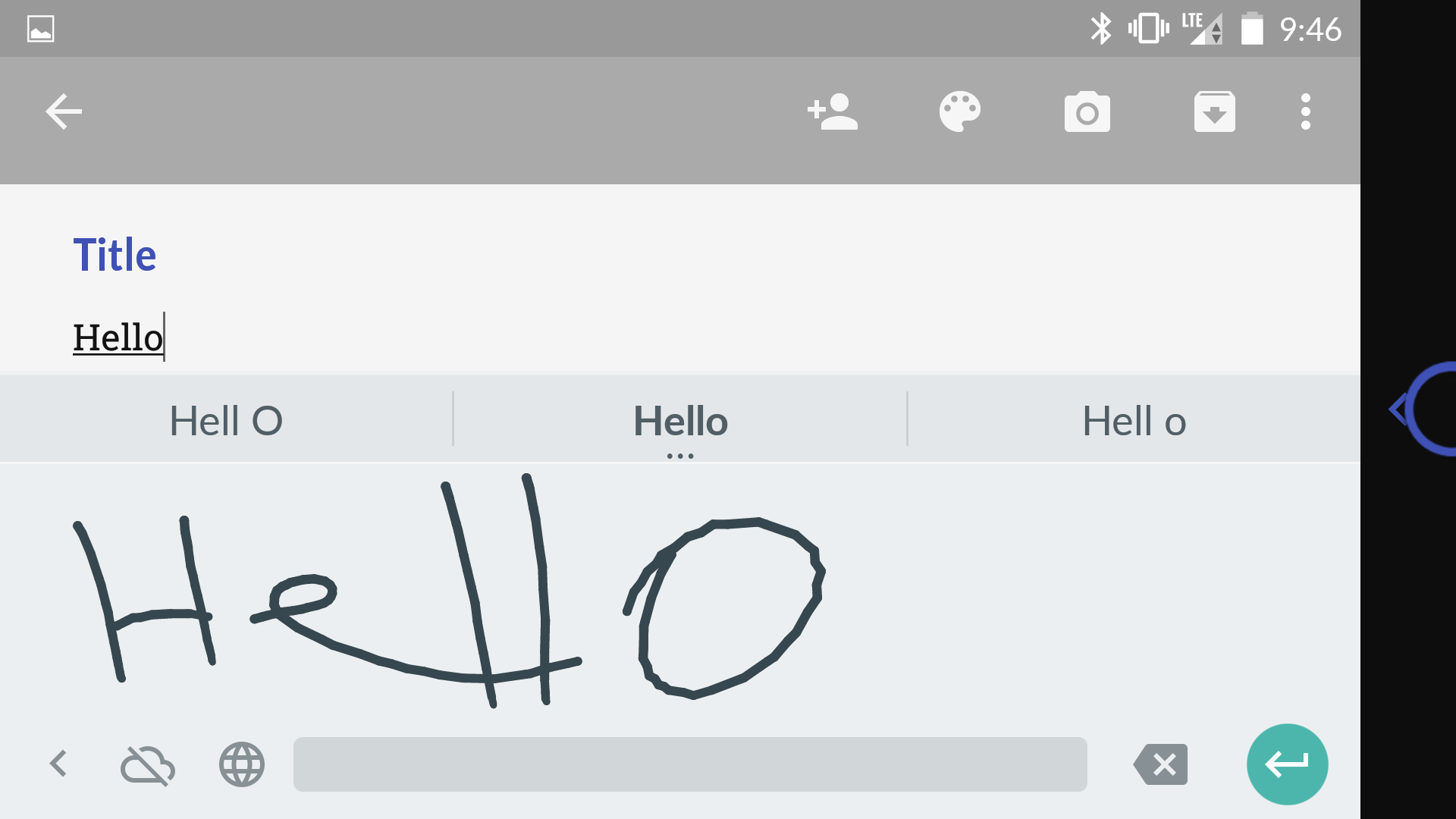 Google's New Handwriting tool has redefined Convenience
