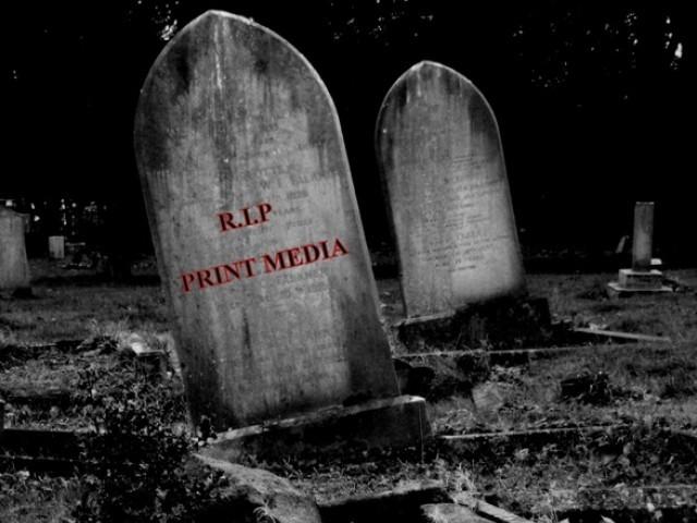 Why should you prefer social media over print media for advertising?
