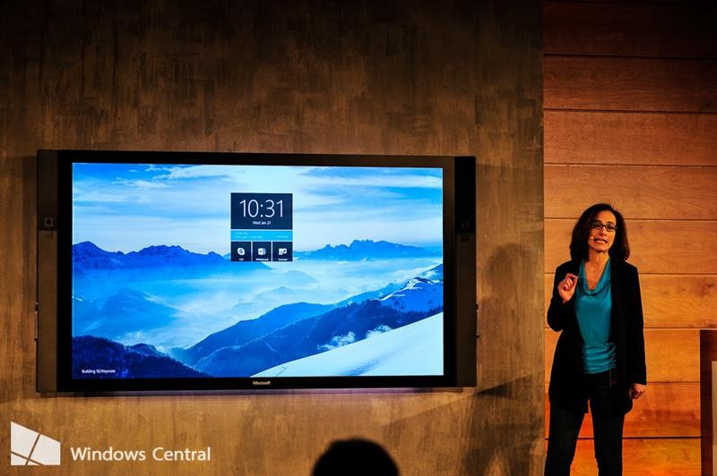 Microsoft's Surface Hub will be available at a whopping cost