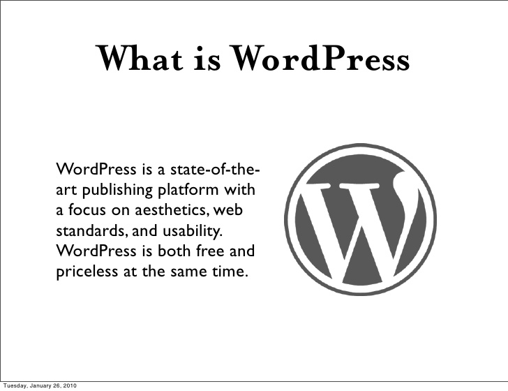 What is Word Press?