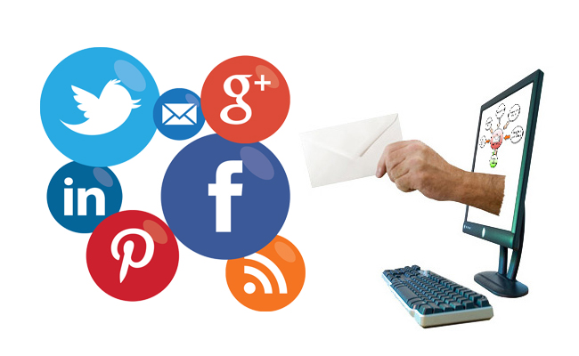 Email and Social media work better together