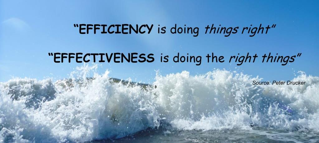 What is the difference between efficiency and effectiveness marketing measures?-  Part II