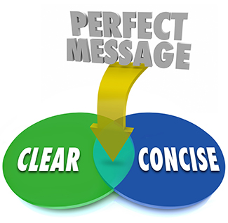 Perfect Message Clear Concise Venn Diagram Communication