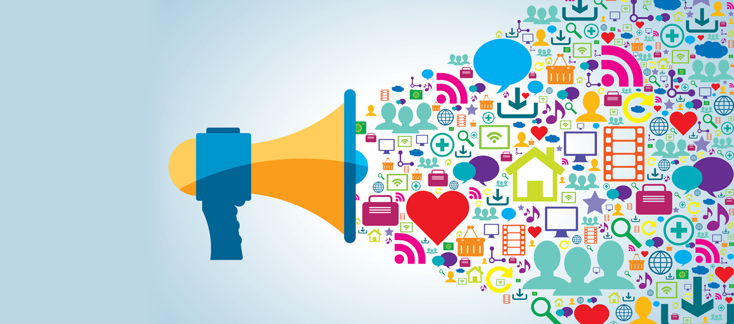 Benefits of social media marketing: I