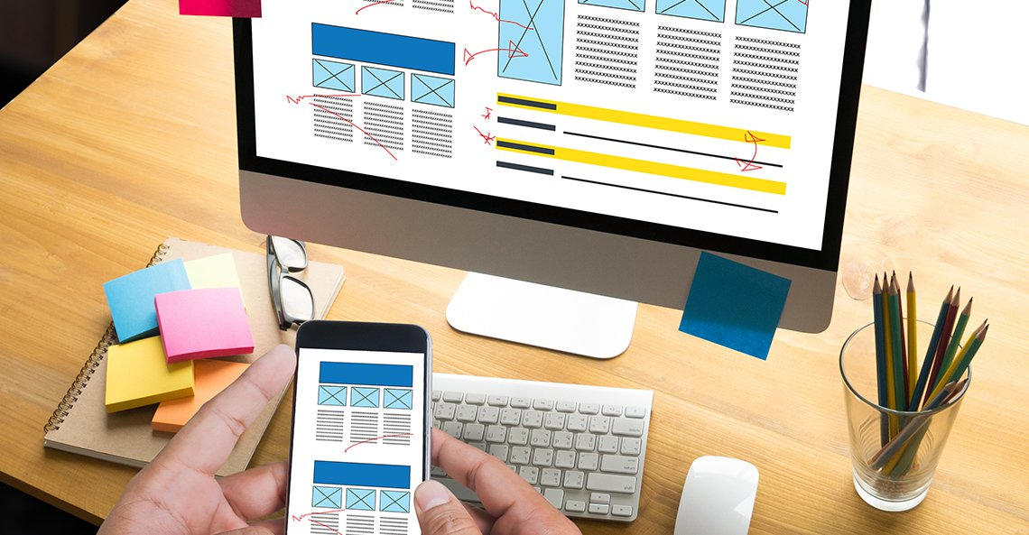 Essential elements of a good website homepage design
