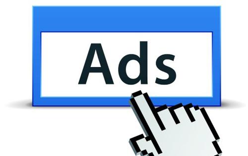 Blog advertisement