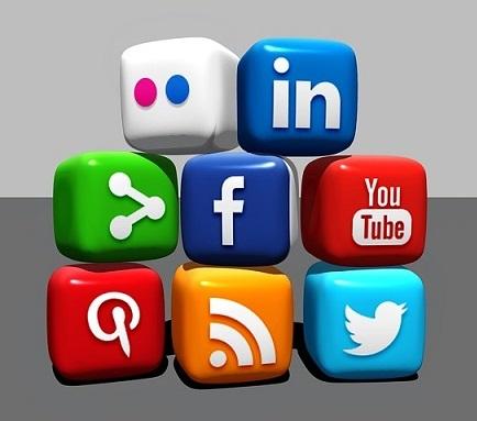 Social media for blog promotion