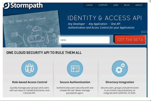 Stormpath API