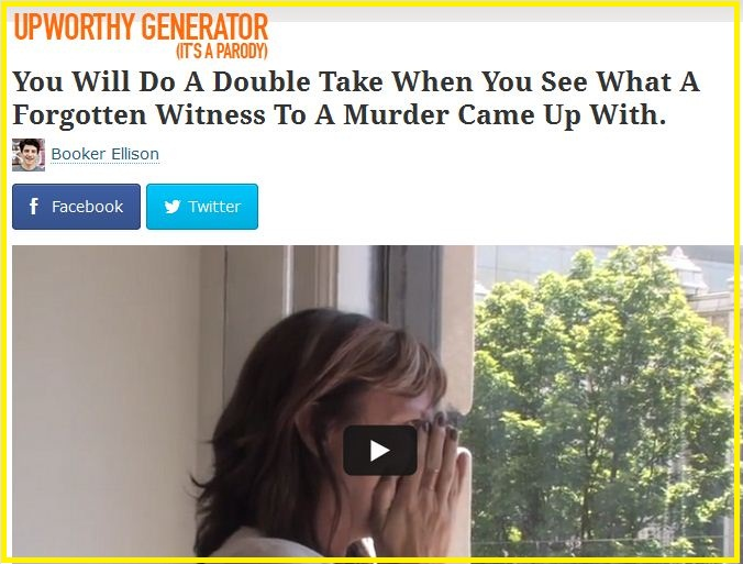 UPWorthy title generator