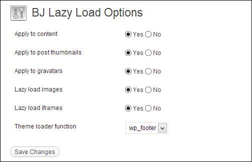 B J Lazy Load