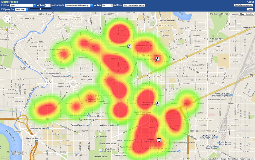 Heat mapping services