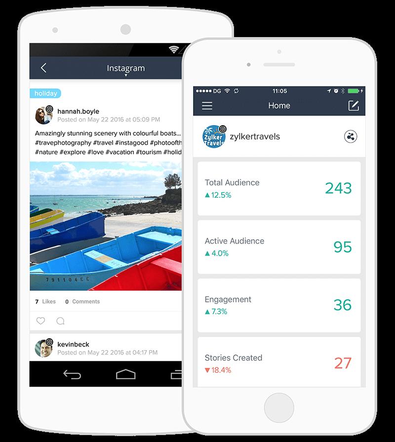 Instagram management tool