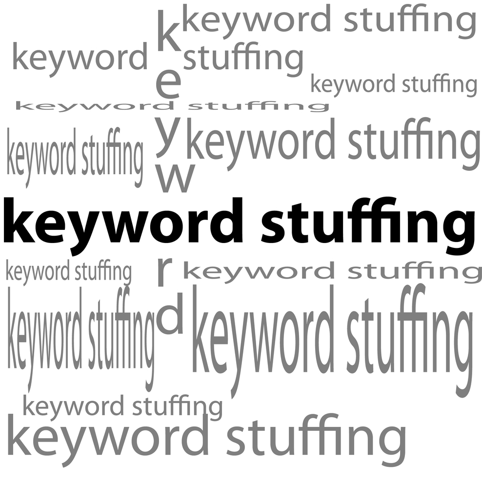 How keyword stuffing harms your website ranking